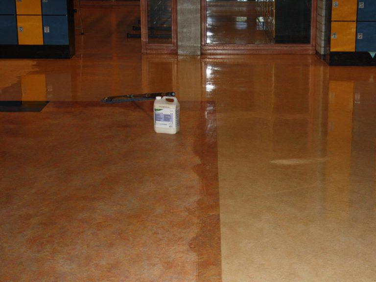 Harde vloeren reinigen